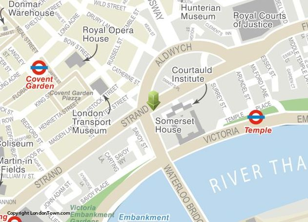 Kings College London Map.King S College London Conference And Vacation Bureau Venue Hire