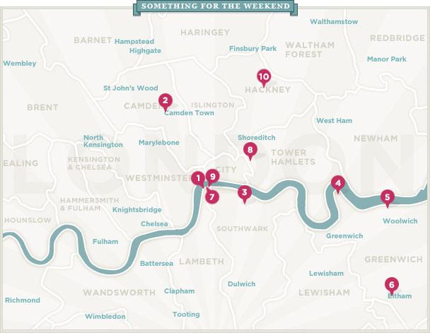 Weekend map