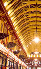 Leadenhall Market Christmas Lights hotels title=