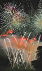 Kingston Community Fireworks Display hotels title=
